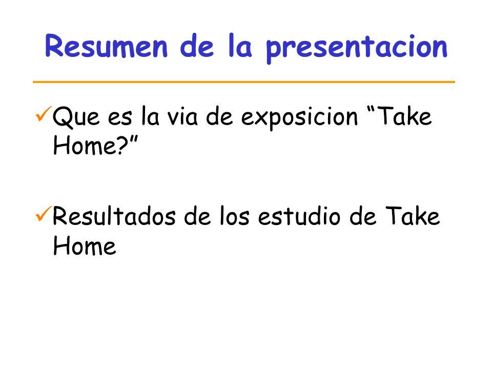 Resumen de la presentacion