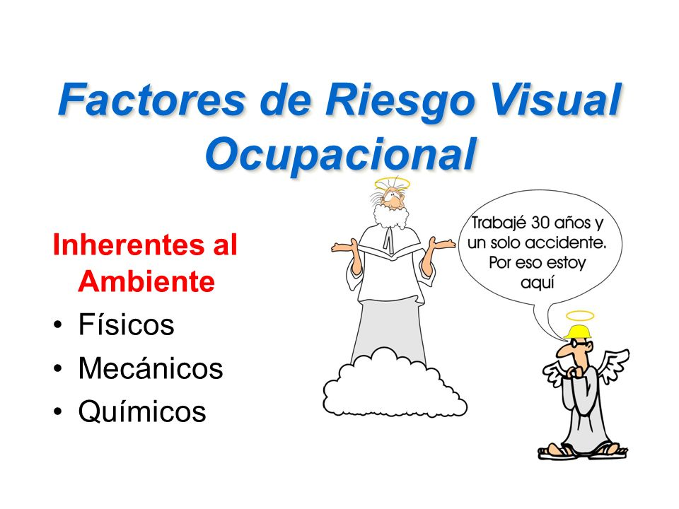 Factores de Riesgo Visual Ocupacional