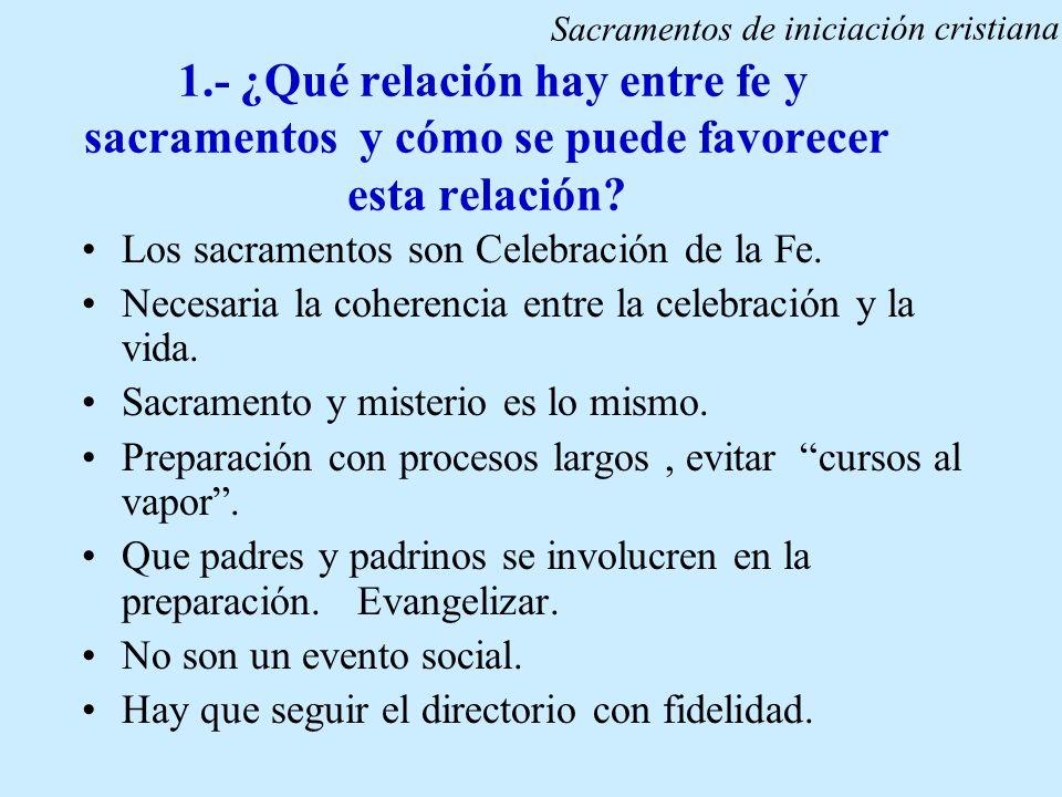 Sacramentos de iniciación cristiana
