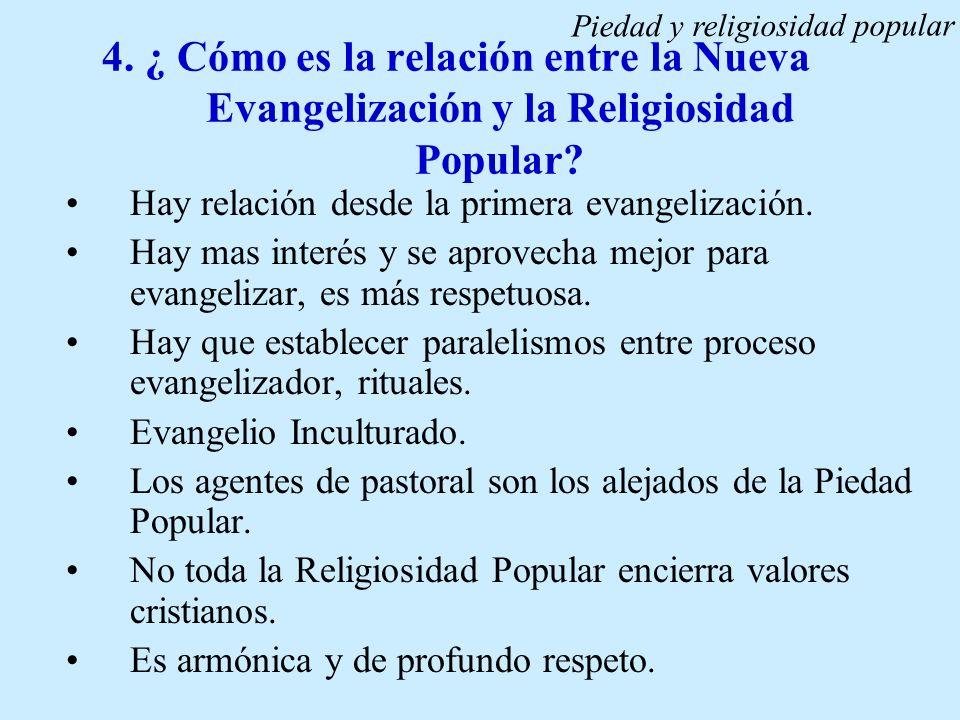 Piedad y religiosidad popular