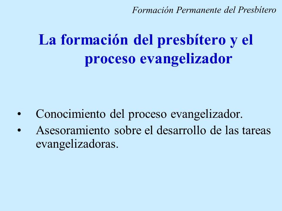 La formación del presbítero y el proceso evangelizador