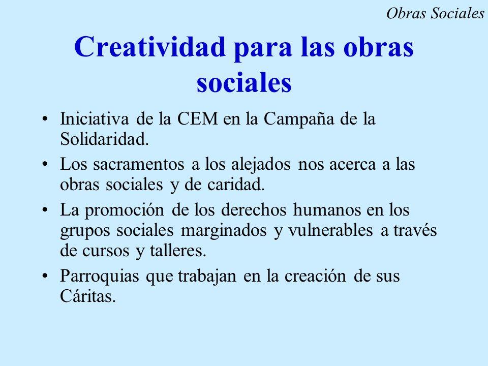 Creatividad para las obras sociales