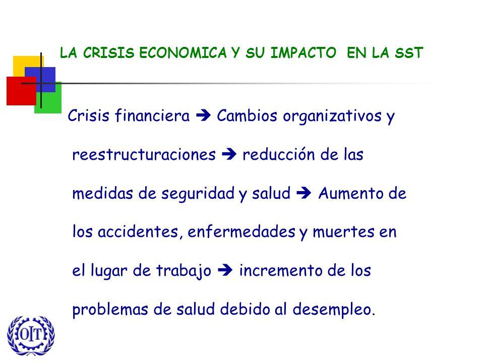 LA CRISIS ECONOMICA Y SU IMPACTO EN LA SST