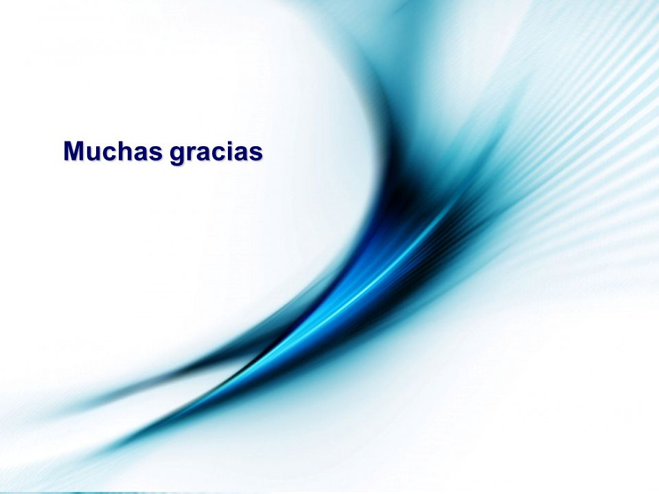 Muchas gracias Patio