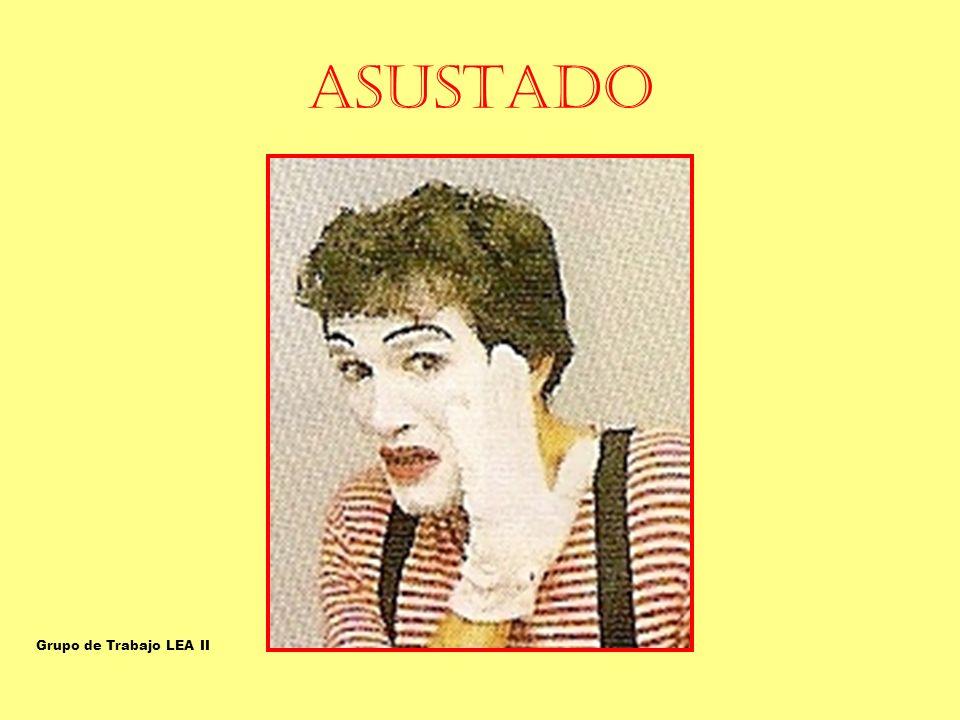 ASUSTADO ASUSTADO-ESPANTADO Grupo de Trabajo LEA II