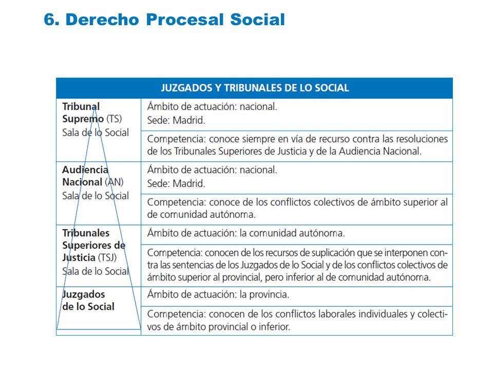 6. Derecho Procesal Social
