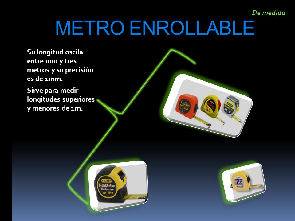 METRO ENROLLABLE De medida
