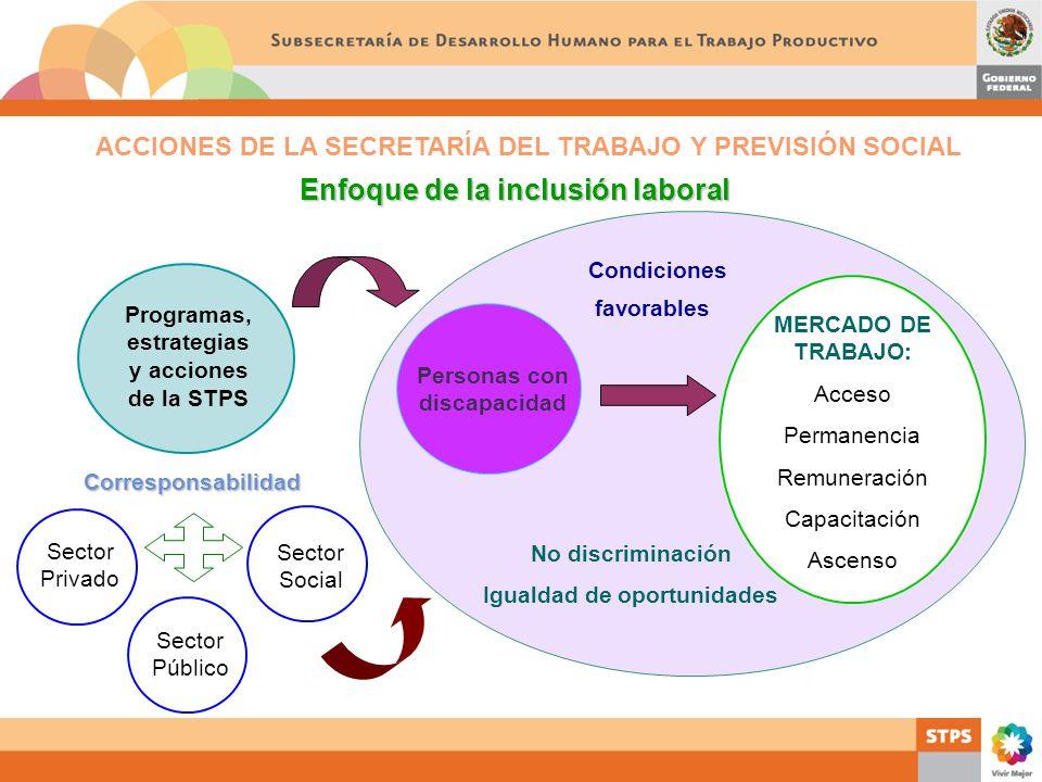 Enfoque de la inclusión laboral