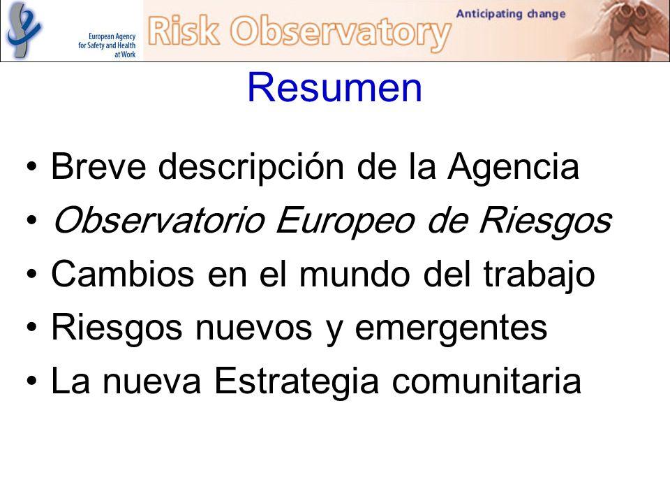 Resumen Breve descripción de la Agencia