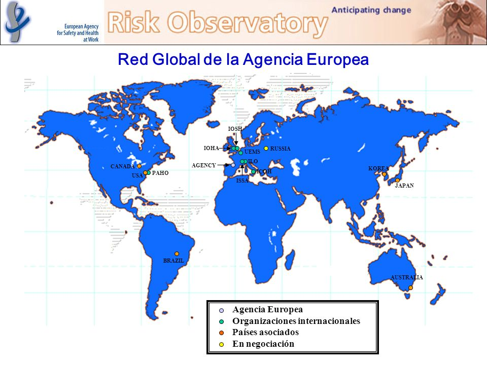 Red Global de la Agencia Europea
