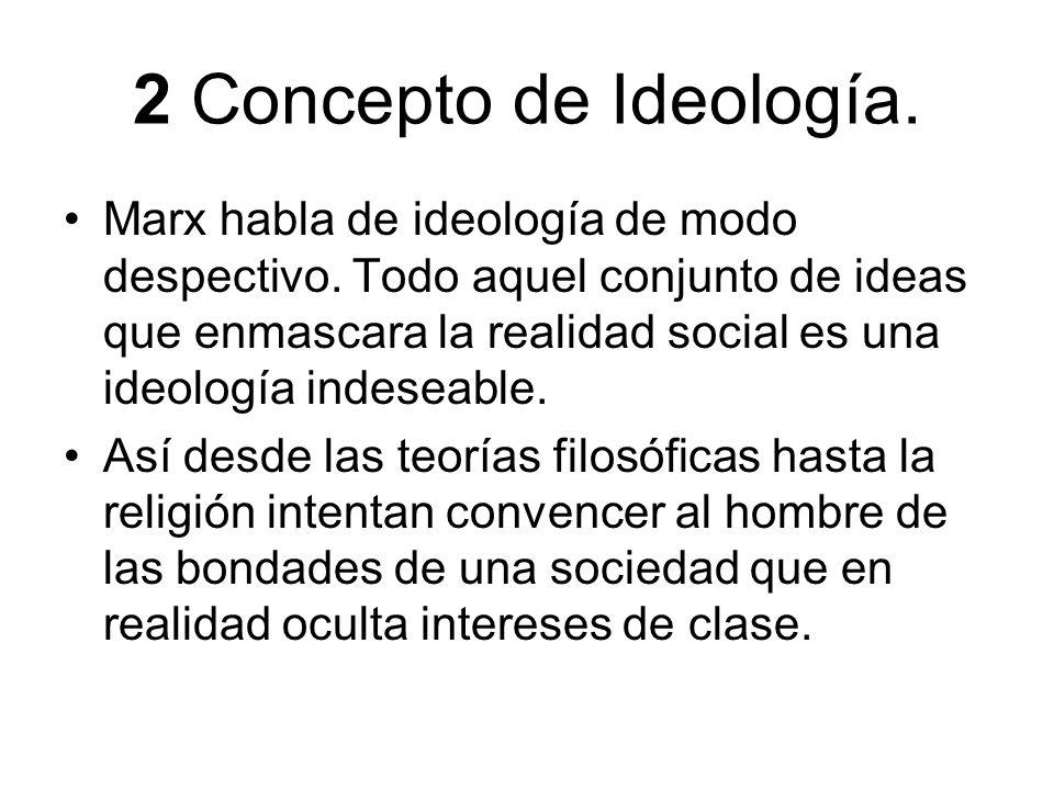 2 Concepto de Ideología.