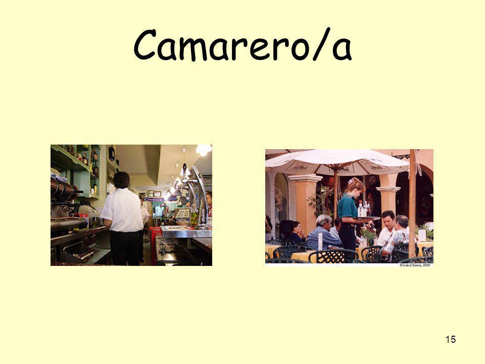 Camarero/a
