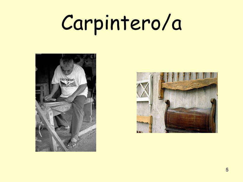 Carpintero/a