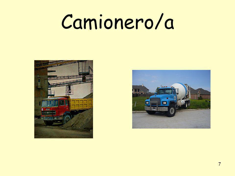 Camionero/a