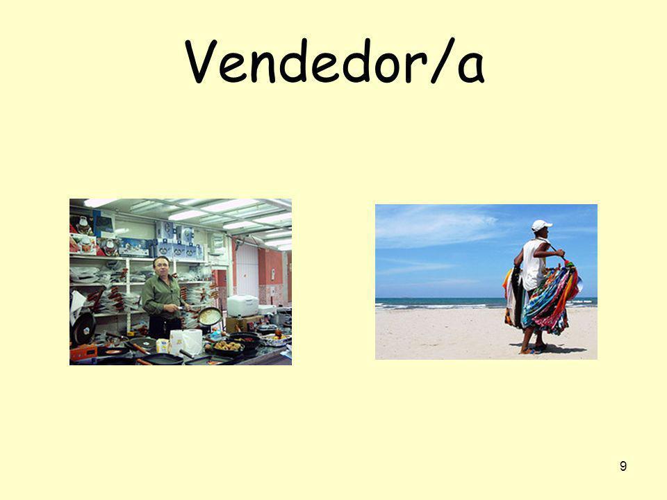 Vendedor/a