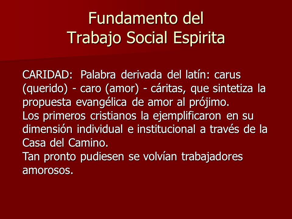 Fundamento del Trabajo Social Espirita