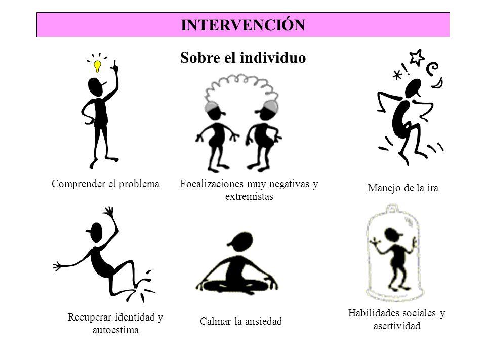INTERVENCIÓN Sobre el individuo
