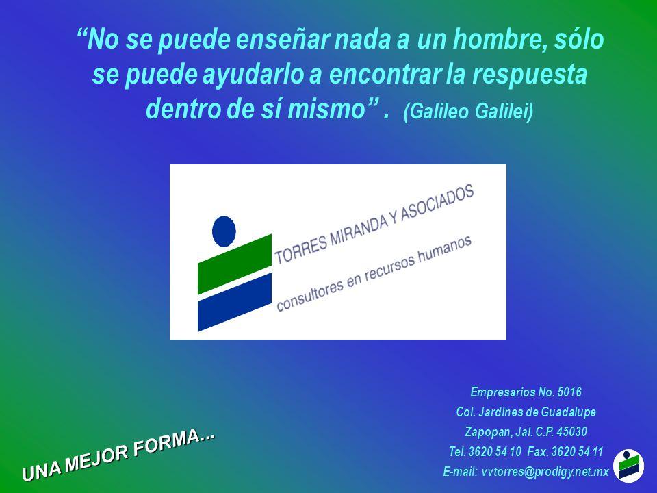 Col. Jardines de Guadalupe E-mail: vvtorres@prodigy.net.mx