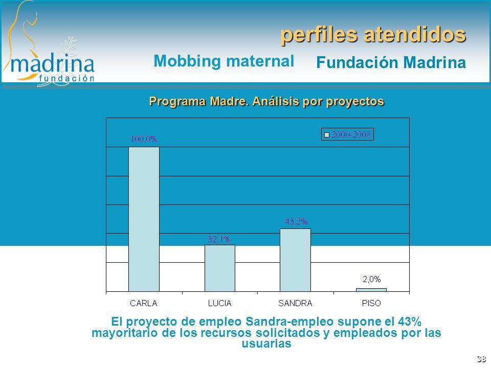 Programa Madre. Análisis por proyectos