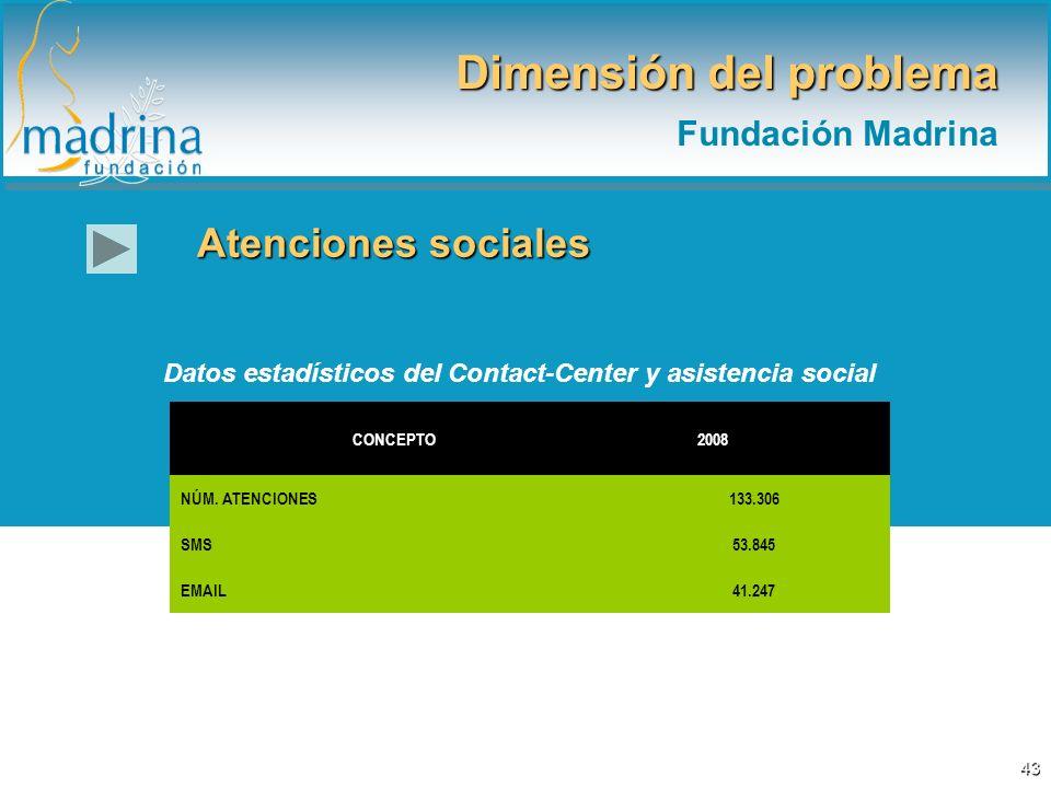 Dimensión del problema Fundación Madrina