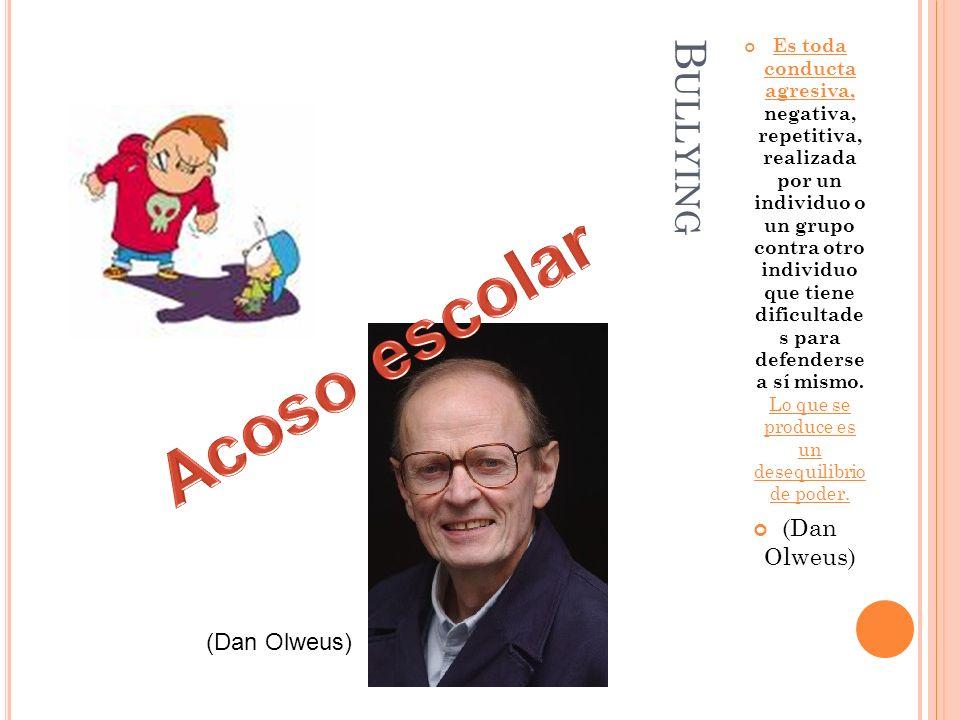 Acoso escolar Bullying (Dan Olweus) (Dan Olweus)