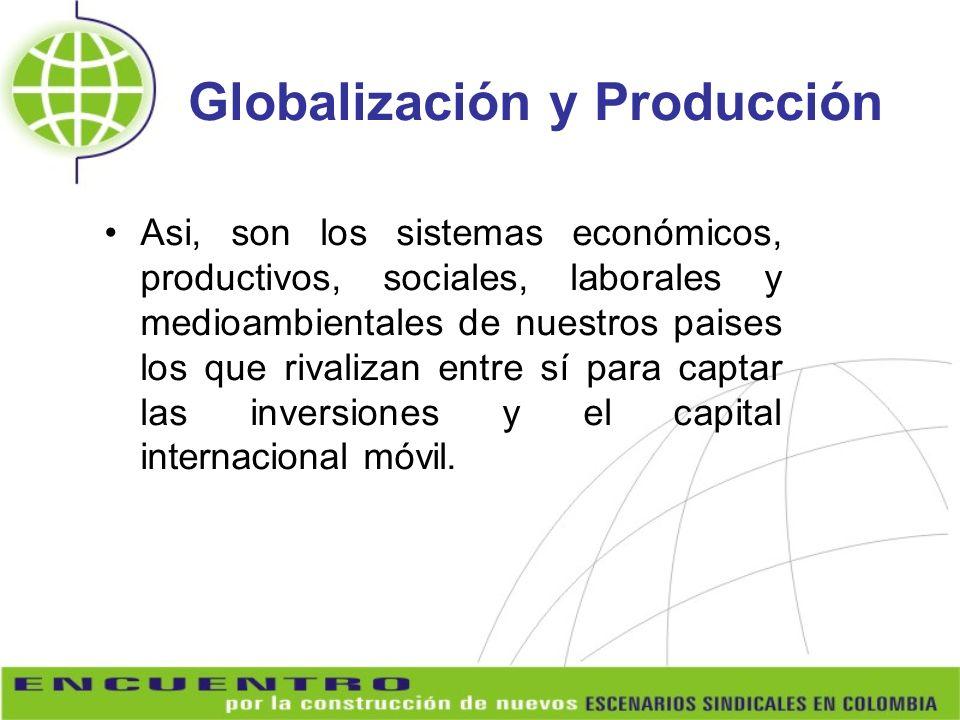 Globalización y Producción