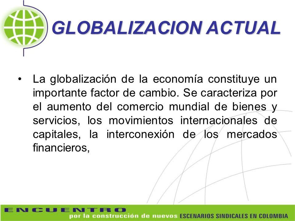 GLOBALIZACION ACTUAL