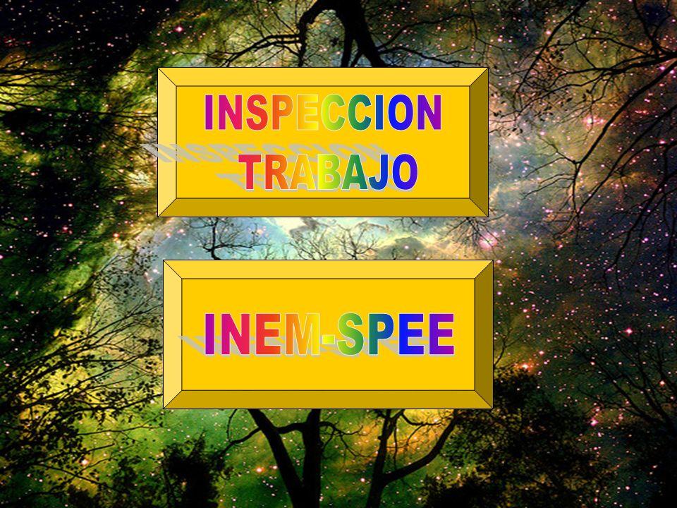 INSPECCION TRABAJO INEM-SPEE