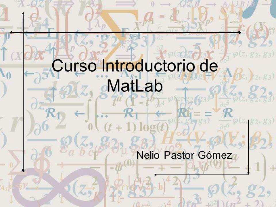 Curso Introductorio de MatLab