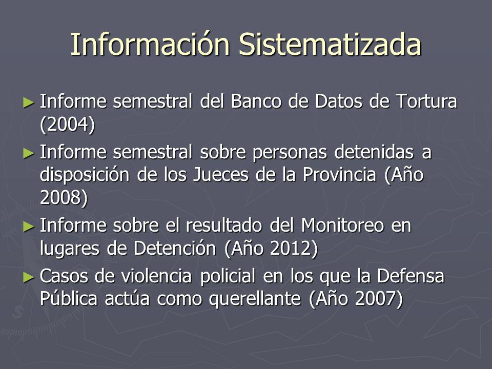 Información Sistematizada