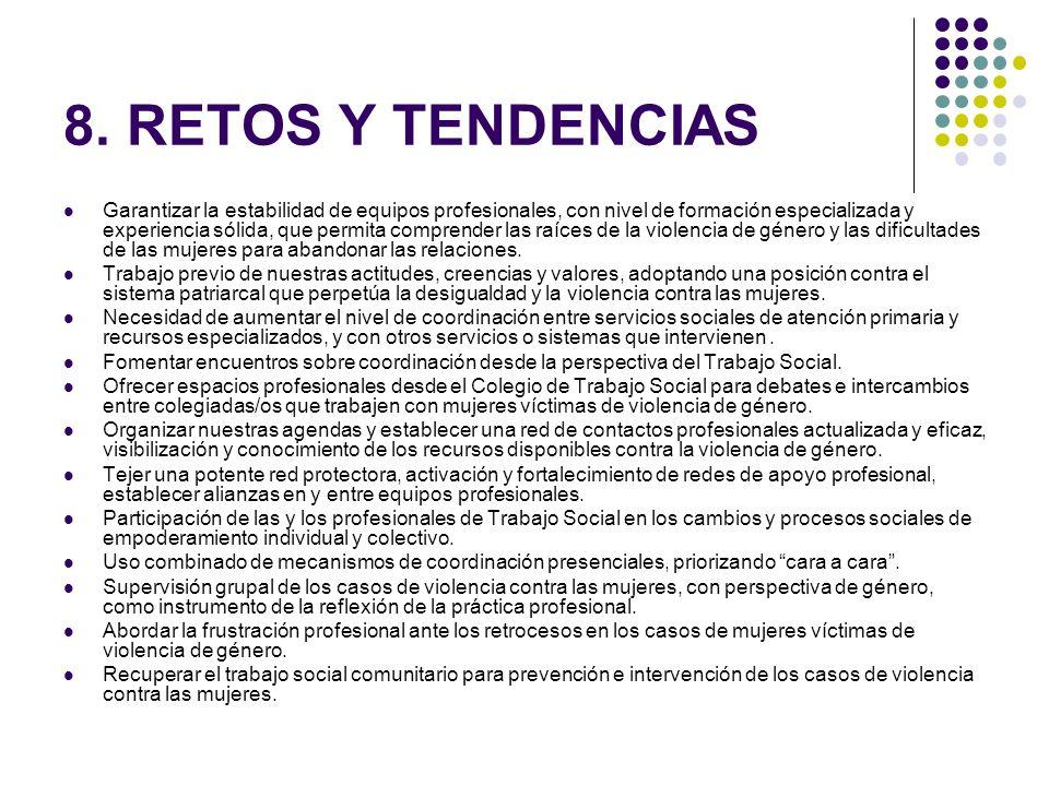 8. RETOS Y TENDENCIAS
