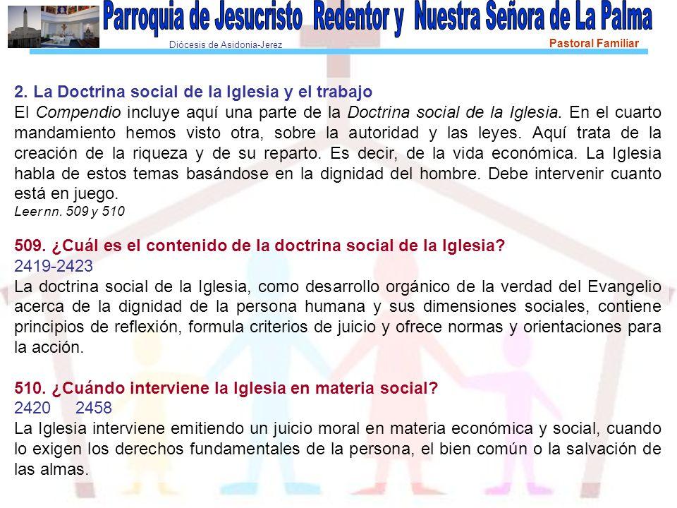 2. La Doctrina social de la Iglesia y el trabajo