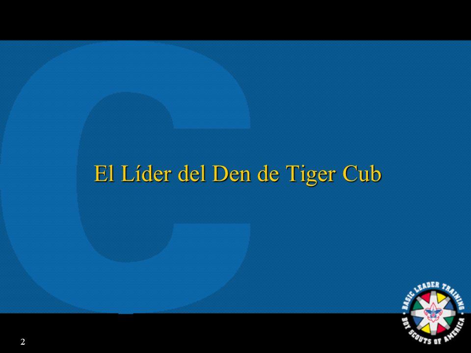 El Líder del Den de Tiger Cub