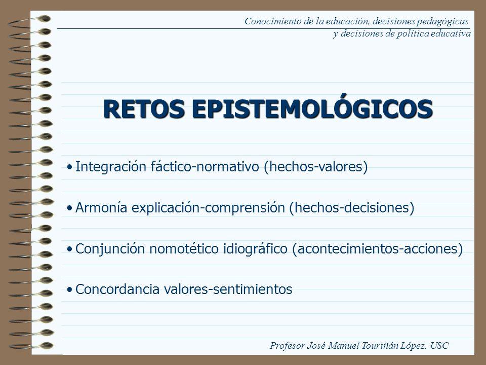 RETOS EPISTEMOLÓGICOS