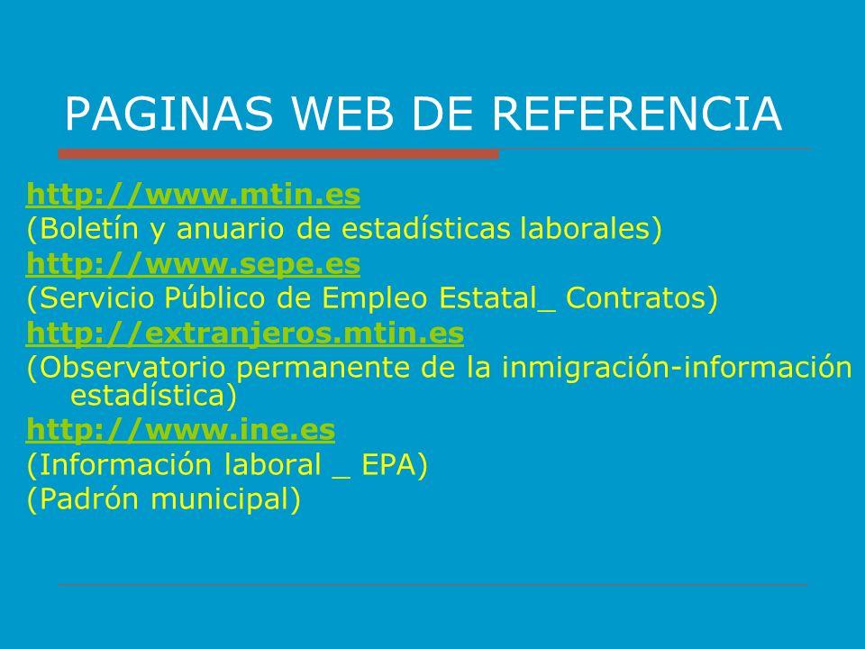 PAGINAS WEB DE REFERENCIA