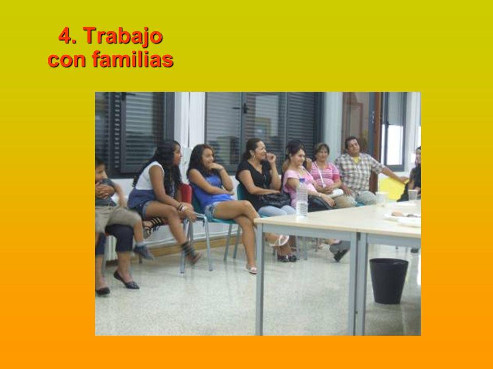 4. Trabajo con familias