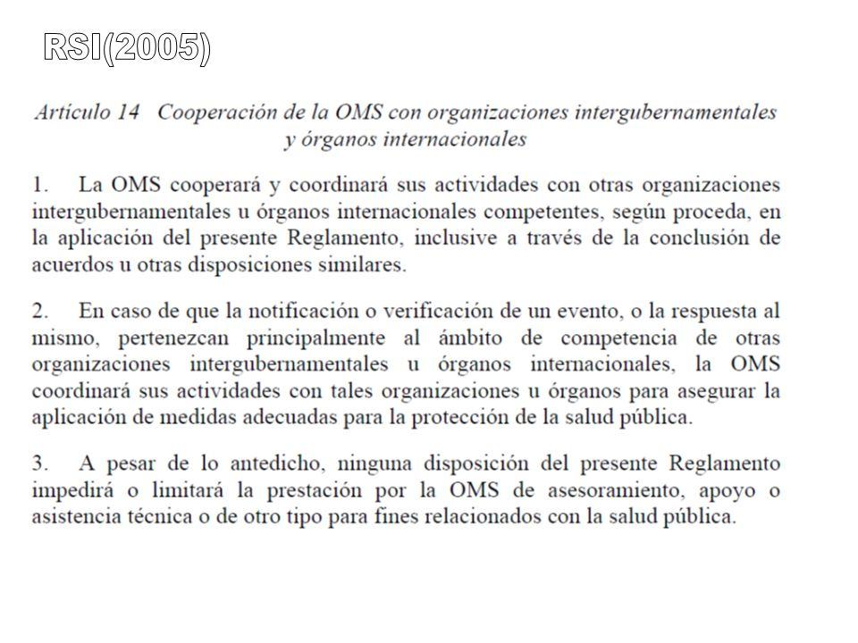 RSI(2005) Código OIE