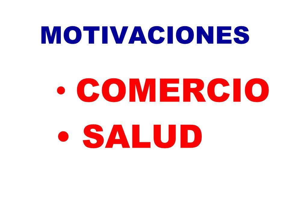MOTIVACIONES COMERCIO SALUD