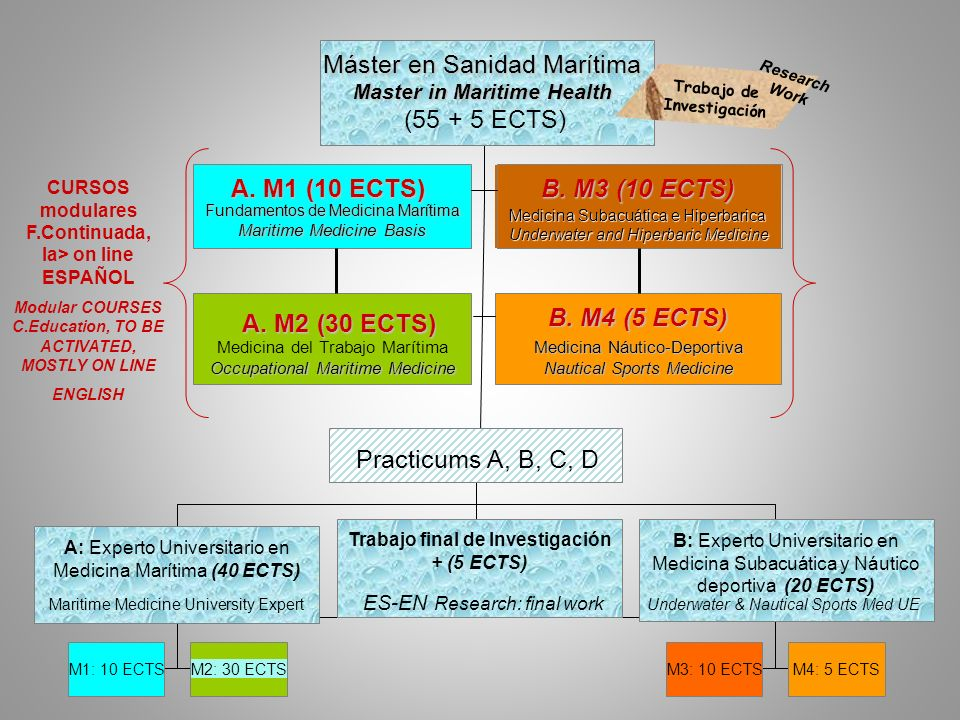 Master in Maritime Health Trabajo de Investigación