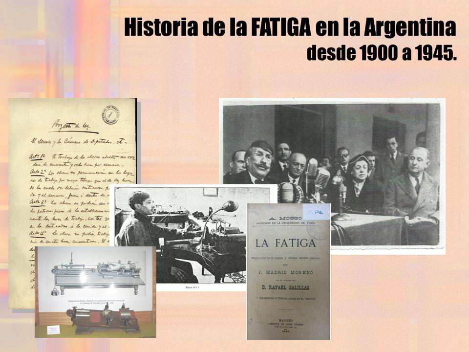 Historia de la FATIGA en la Argentina