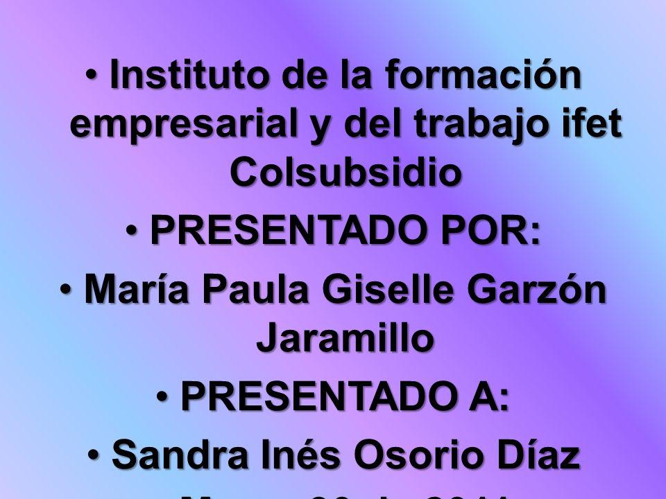 Instituto de la formación empresarial y del trabajo ifet Colsubsidio