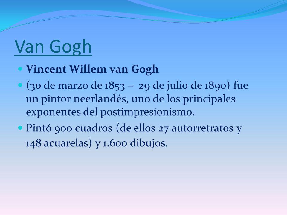 Van Gogh Vincent Willem van Gogh