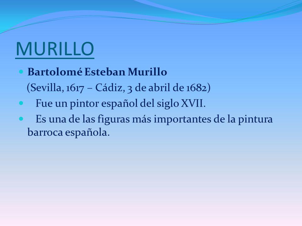 MURILLO Bartolomé Esteban Murillo