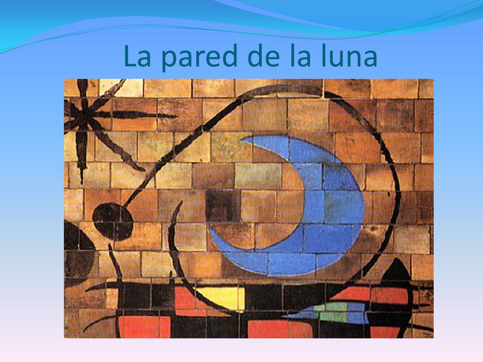 La pared de la luna