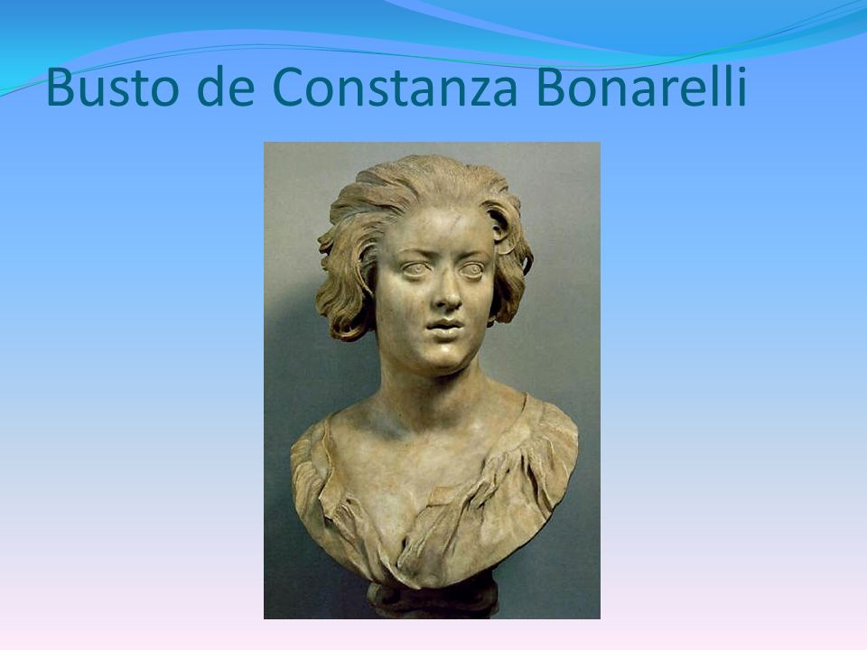 Busto de Constanza Bonarelli