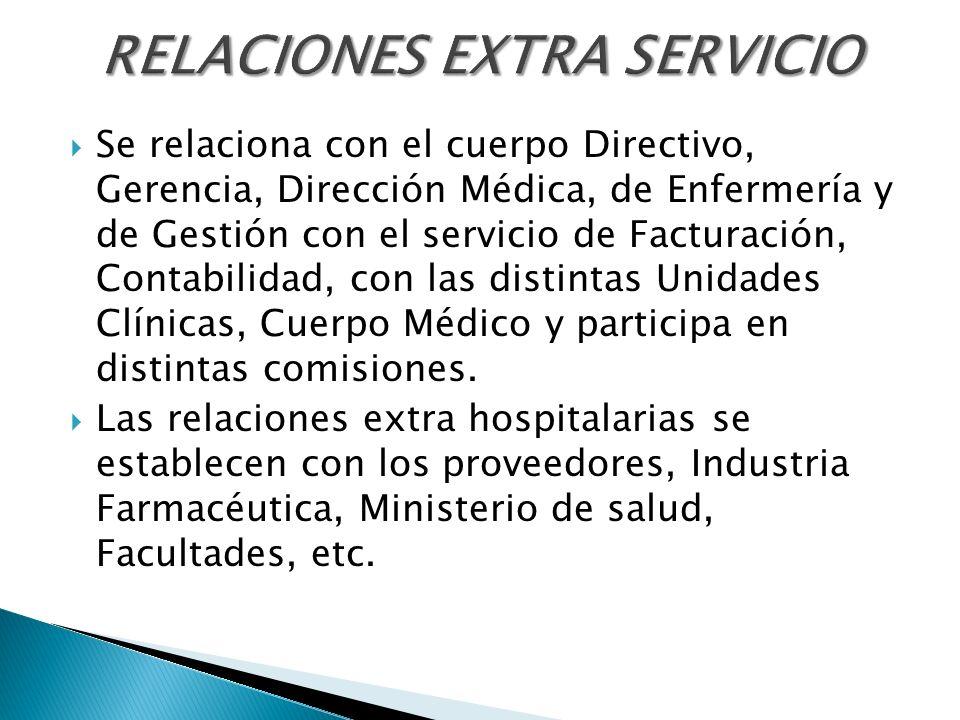 RELACIONES EXTRA SERVICIO