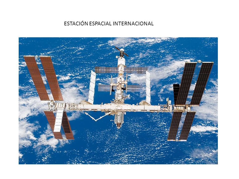 ESTACIÓN ESPACIAL INTERNACIONAL