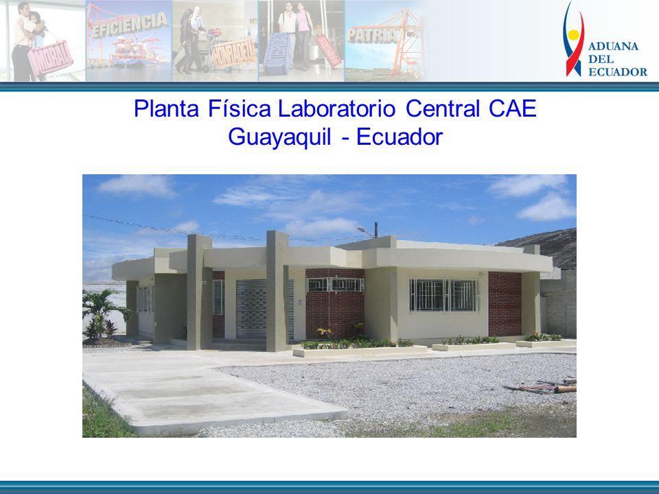 Planta Física Laboratorio Central CAE Guayaquil - Ecuador