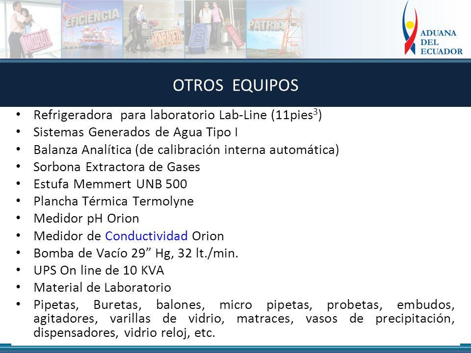 OTROS EQUIPOS Refrigeradora para laboratorio Lab-Line (11pies3)