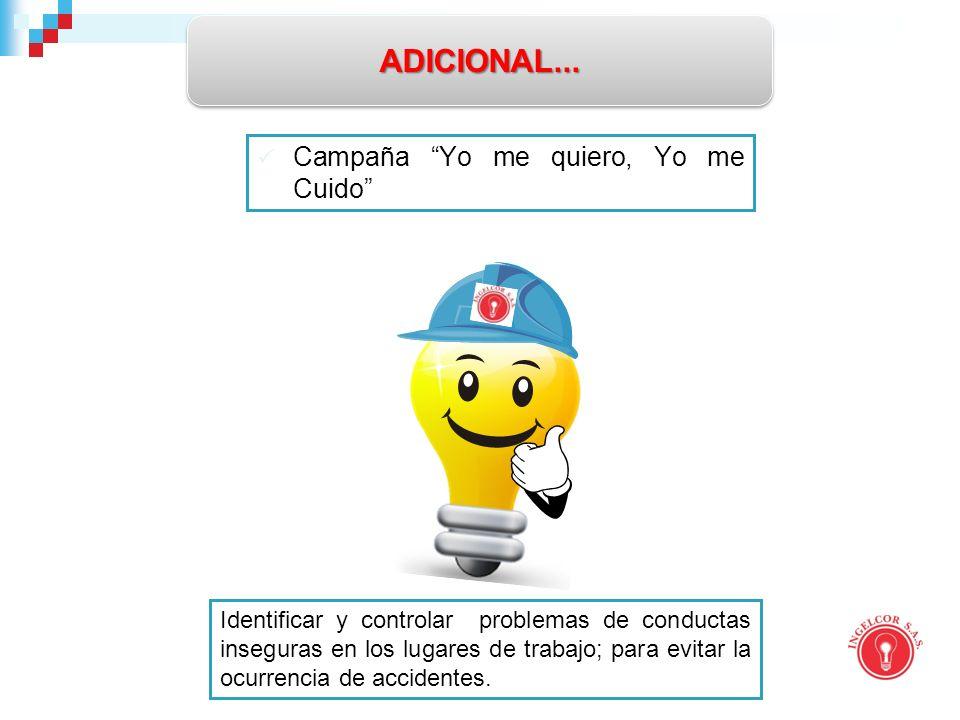 ADICIONAL... Campaña Yo me quiero, Yo me Cuido